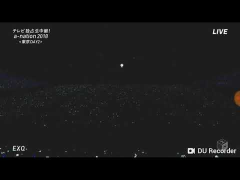 EXO ELECTRIC KISS LIVE @AN NATION 26082018 IN JAPAN