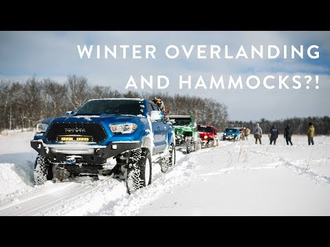 2018 Cabin Fever Winter Overland Trip