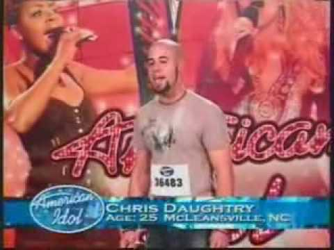 Chris Daughtry - American Idol Audition