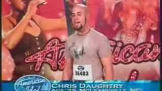 Repeat youtube video Chris Daughtry - American Idol Audition