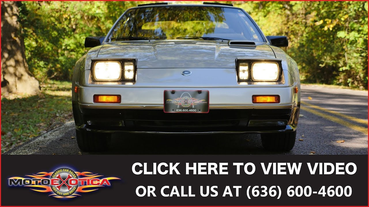 1984 Nissan 300zx Turbo 50th Anniversary Sold Youtube