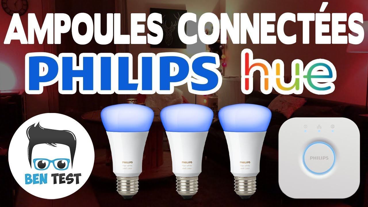 ampoules connect es philips hue v3 pr sentation et test youtube. Black Bedroom Furniture Sets. Home Design Ideas