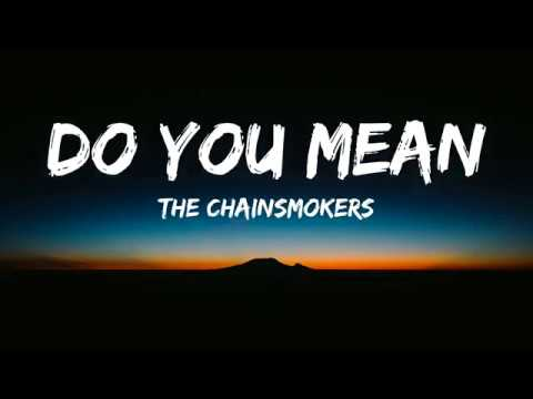 The Chainsmokers - Do You Mean(Lyrics/Lyrics Video)