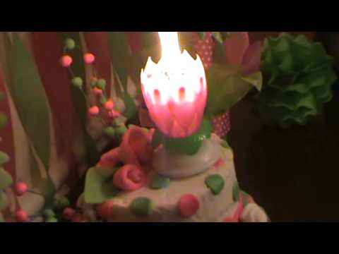 Candle That Opens Like A Flower