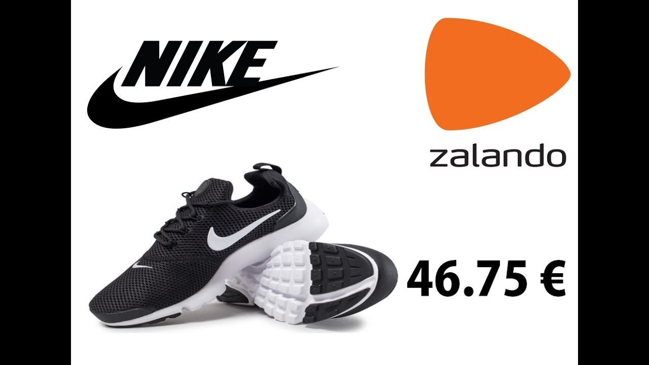 huge discount 55213 2093f UNBOXING ZALANDO NIKE PRESTO FLY 46.75 € PAS CHER !