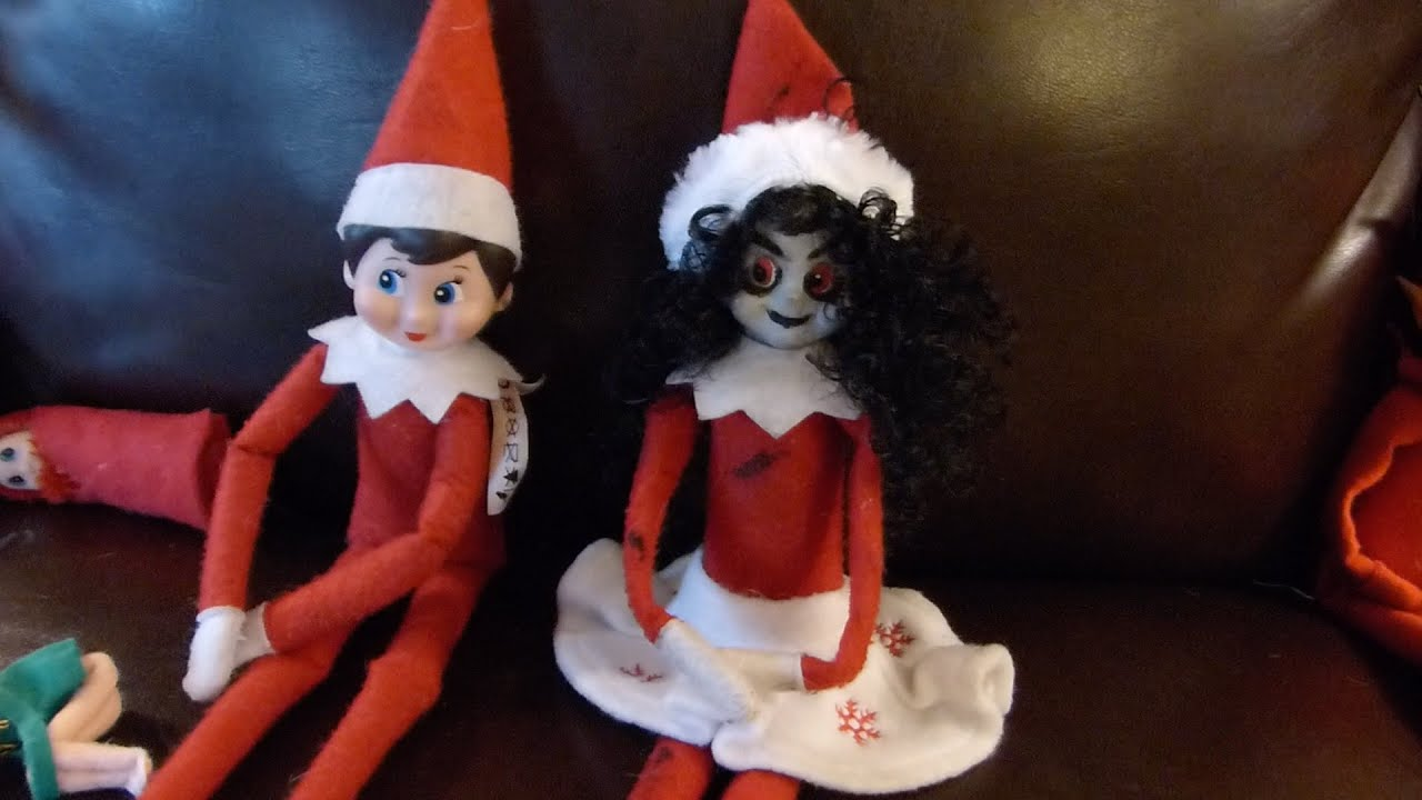 bad elf on the shelf the wrong magical fred youtube