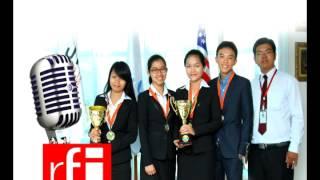 20140702 jci cambodia debating champions 2014 interview by rfi
