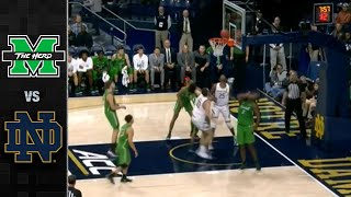 Marshall vs. Notre Dame Men