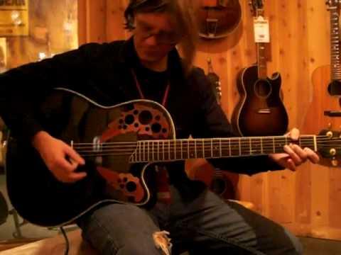 Dead or Alive by Bon Jovi played by Billy - Ovation Celebrity CC44 Ovation Guitar