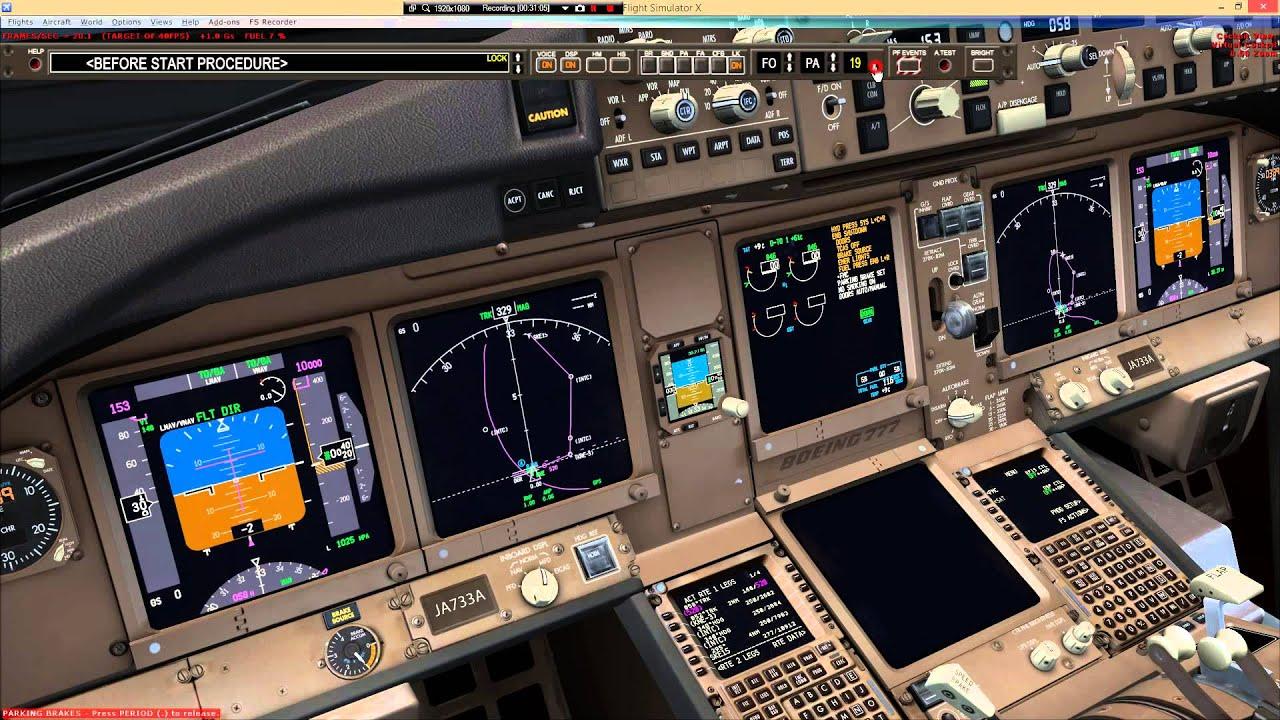 ANA96 RJBB-RJTT / PMDG 777-300ER - Part 1