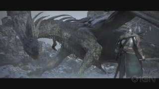 клип-Dark Souls (всадник из льда)
