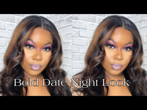 The world opening back up just for this Bold Eyeshadow Look for DATE NIGHT 😍 from YouTube · Duration:  13 minutes 15 seconds