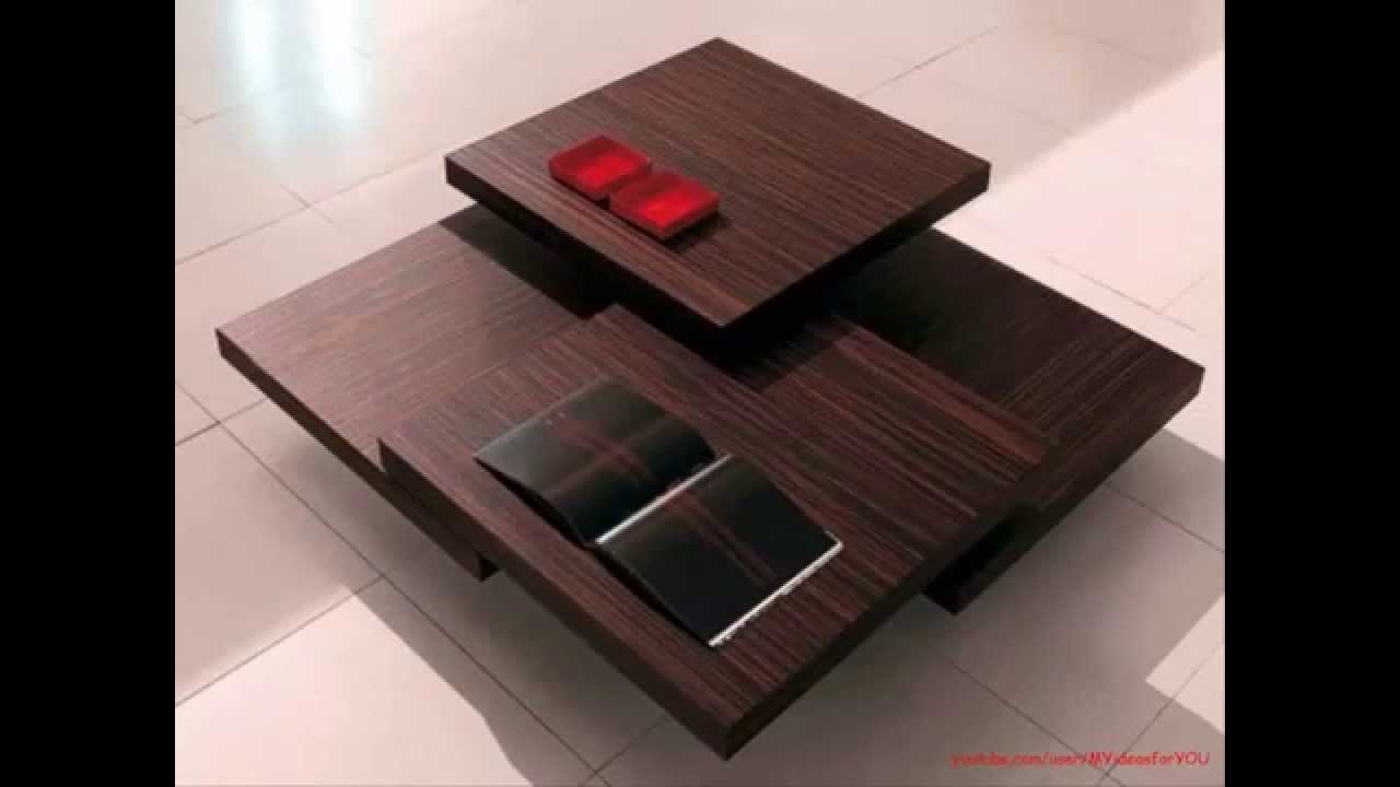 small Coffee top tables furniture designs ideas - YouTube