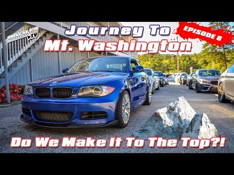 BMW Journey to Mt. Washington with MassBMW - Do We Make It T
