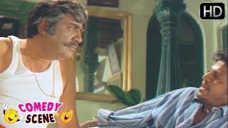 Neenu Namma Appa Antha Helubidla ? Dheerendra Gopal and Shivarajkumar | Kannada Movie Comedy Scenes
