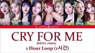 TWICE (트와이스) _ CRY FOR ME 1 Hour Loop (1시간)