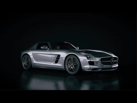 Lighting A Car Scene in Cinema 4D - Tutorial