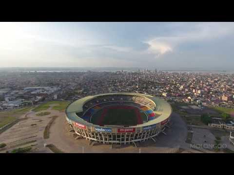 Molongoo - Project Drone 243 - Stade des Martyrs in Kinshasa (4K)