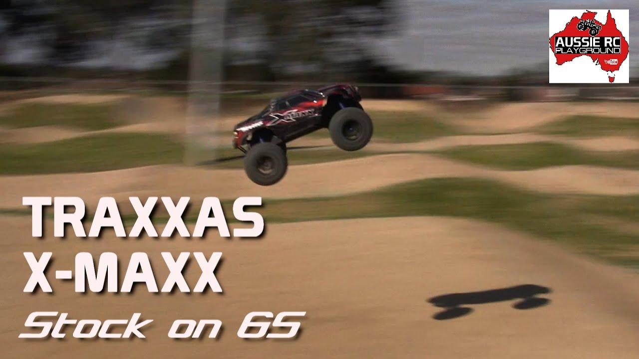 Traxxas X-Maxx on 6S - Stock - YouTube