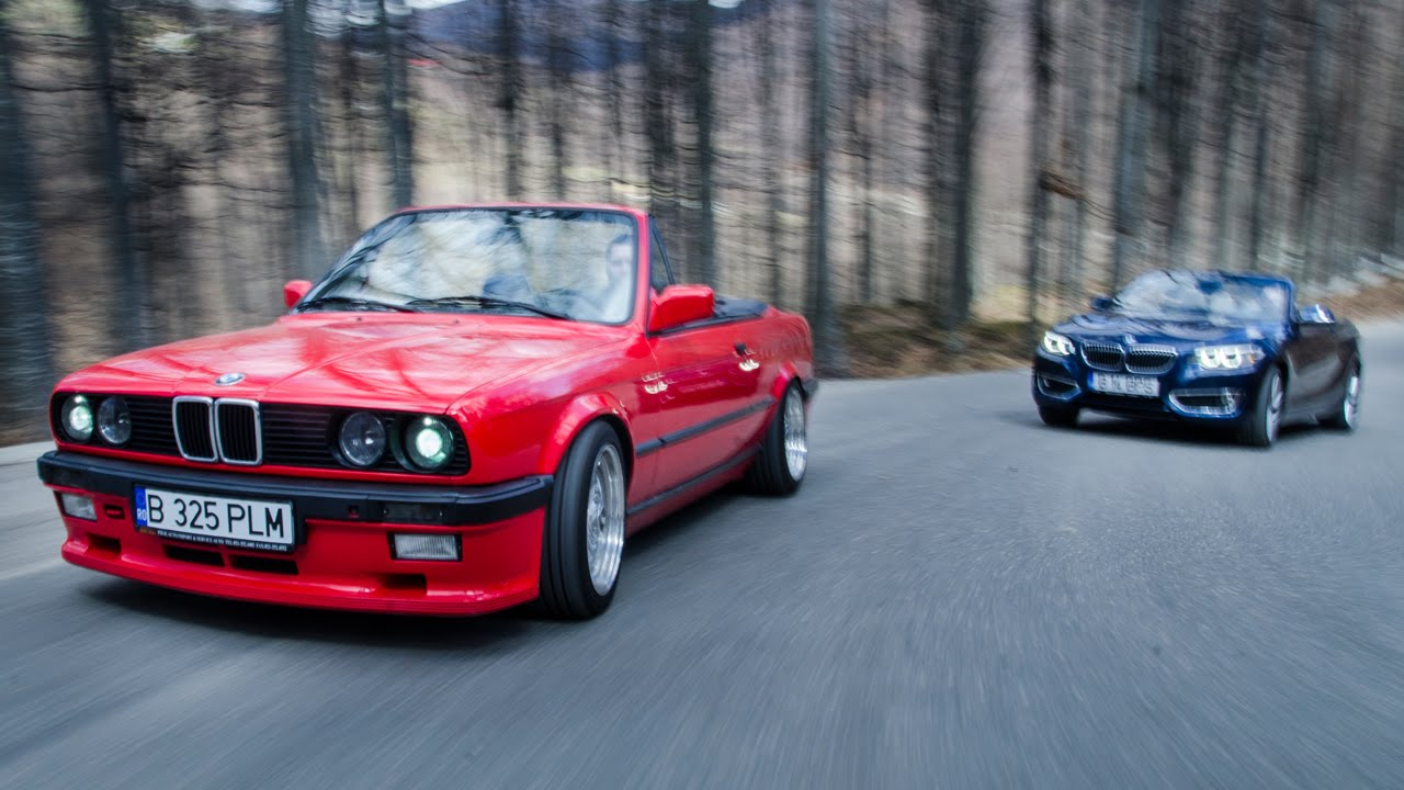 test bmw seria 2 cabrio vs bmw e30 cabrio bmw blog. Black Bedroom Furniture Sets. Home Design Ideas