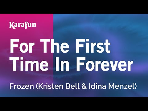 Karaoke For The First Time In Forever - Frozen *