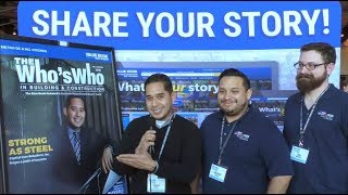Ronald Vargas from Capital Iron Solutions, Inc. Shares His Story at The Who