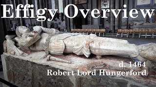 Robert Lord Hungerford Effigy in Salisbury Cathedral
