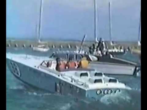 Offshore Powerboat Racing - 1974 Cine Film