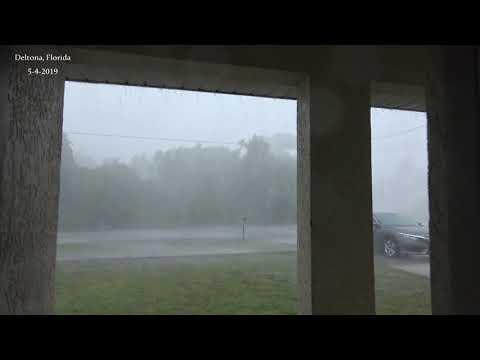 Deltona Florida Hail Storm