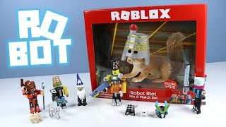 Roblox Robot Riot Series 3 and Celebrity Series 2 Core Packs Unboxing