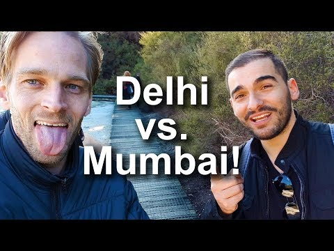 Delhi vs. Mumbai According to Foreigners (+ Dinosaur Land 😲)