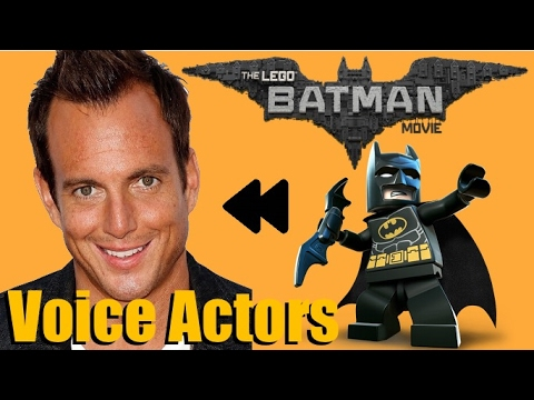 """The Lego Batman Movie"" (2017) Voice Actors and Characters"
