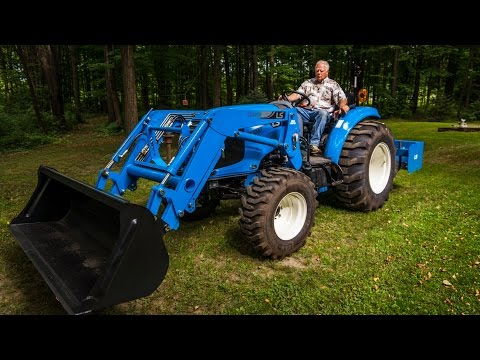 Our New LS XR4040 Compact Tractor