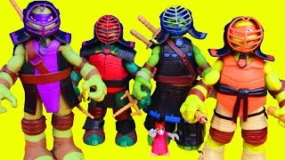 Teenage Mutant Ninja Turtles Dojo TMNT with Training Gear Nickelodeon Master Splinter