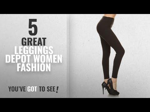 Leggings Depot Women Fashion [2018 Best Sellers]: Leggings Depot YOGA Waist REG/PLUS Women's Buttery