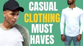 5 Casual Clothing Pieces ALL Men Should Own (Athleisure) thumbnail