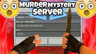 Murder mystery server?? - Minecraft Pocket Edition 1.2
