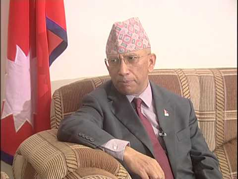 Nepal Ambassador with Mushfiqul Fazal at Hello Excellency on Ntv, Bangladesh. Part-1
