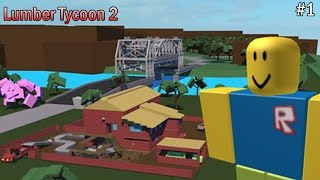 "ROBLOX Indonesia Lumber Tycoon 2 #1 ""coy tanah yg gw beli dmn coy xD"""