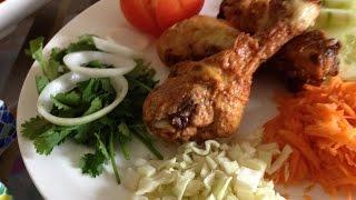 Spicy Drumstick Chicken Fry - Chicken Drumstick Fry - Fried Chicken