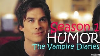 ►TVD - The Best of Season 1 [Humor]