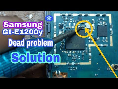 Samsung e1200y Dead Solution