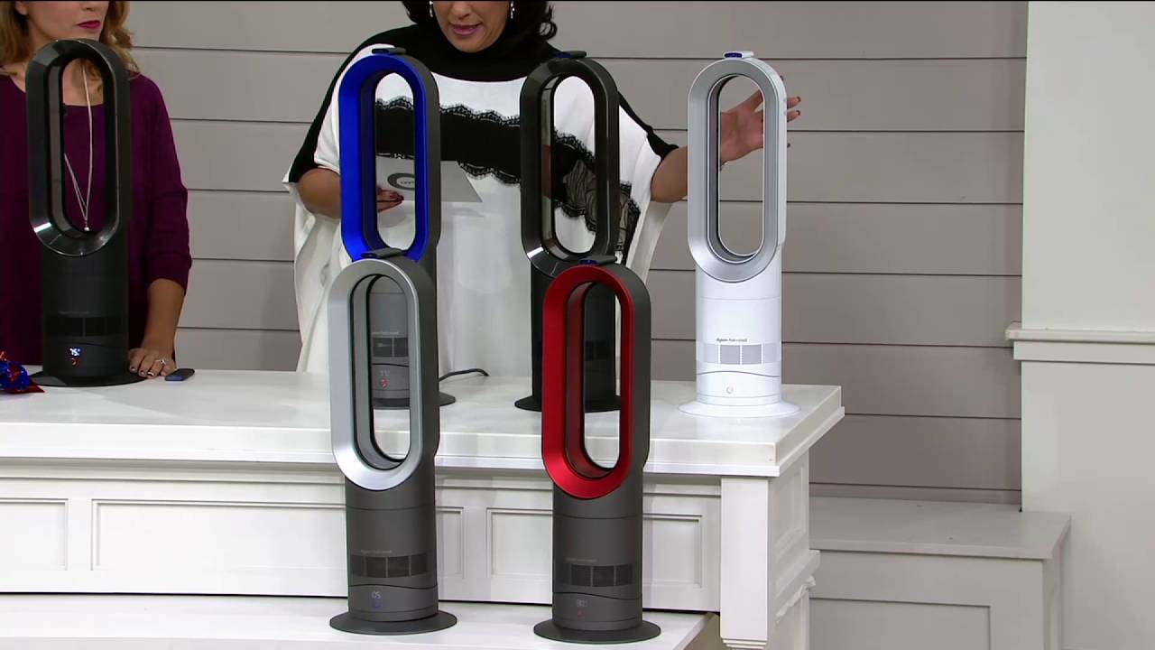 Dyson Am09 Dyson Am09 Hot Cool Bladeless Fan Heater With Jet Focus On Qvc