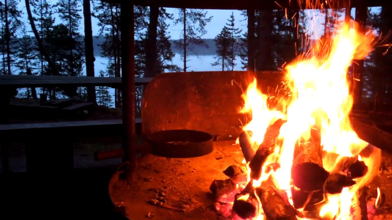 Winter Wallpaper Full Hd Campfire Video Full Hd 1080p With Amazing Natural Sound