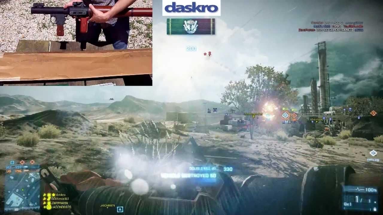 Guns in Battlefield 3 Comparison - RPG-7 Armored Kill Special