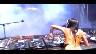 Dj Flower aka Virag Voksan @ MAGMA X Festival, Gorzia (SLO) 09/15/2012 part1