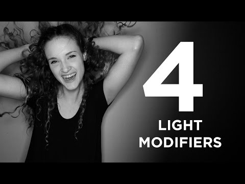 Four Different Light Modifiers
