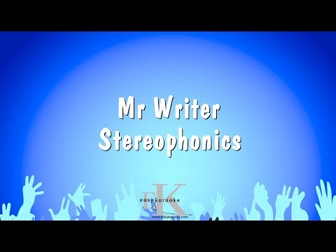 Mr Writer - Stereophonics (Karaoke Version)