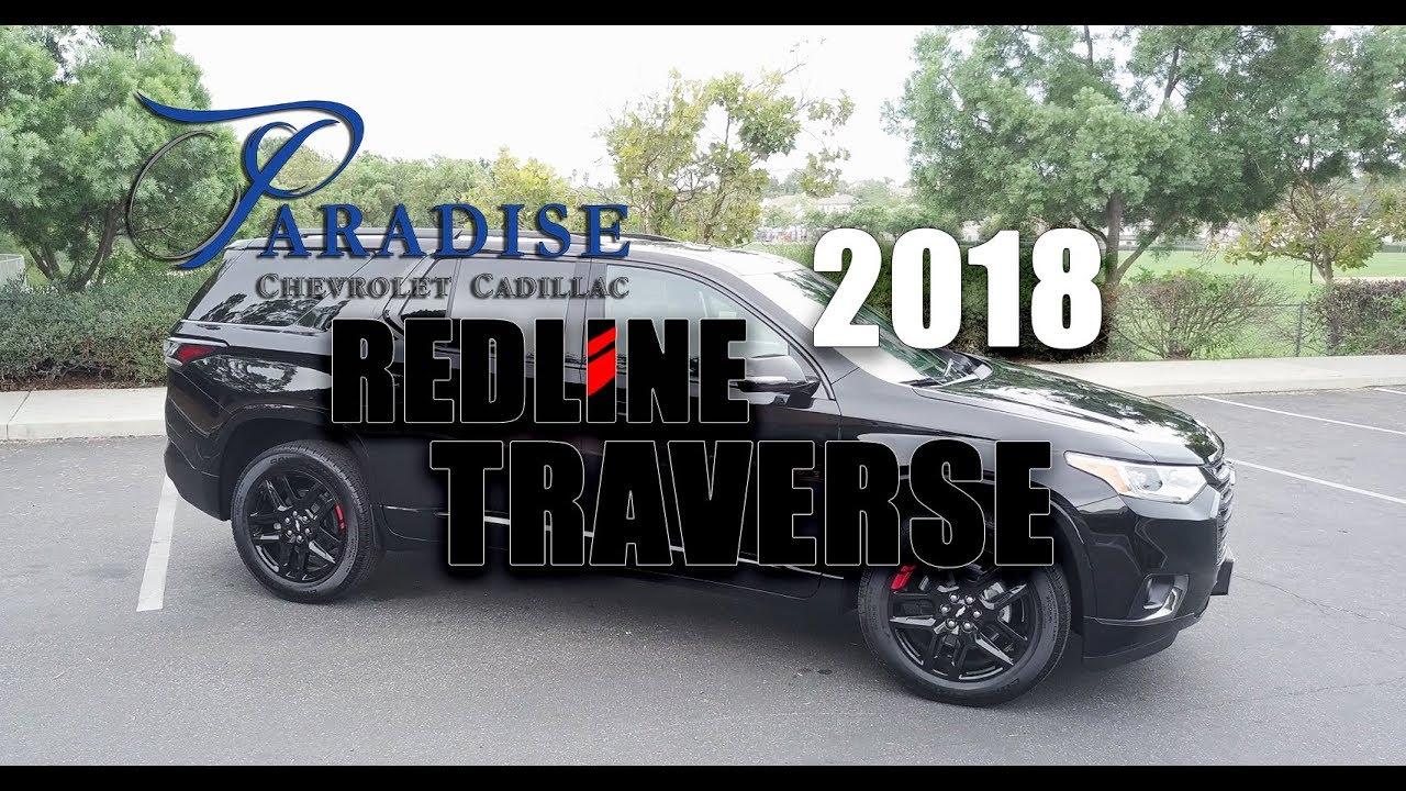 2018 Traverse Redline >> 2018 Redline Traverse