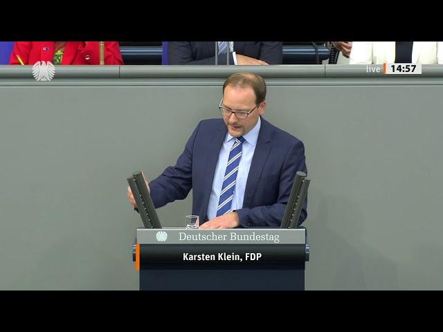 Karsten Klein, FDP: Bundestagsrede zum Haushaltsentwurf des Verteidigungsministeriums (11.09.2019)